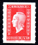 FRANCE 2005 - Autoadhésif Yvert N° 66 NEUF, Marianne De  Dulac - Autoadesivi