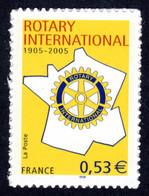 FRANCE 2005 - Autoadhésif Yvert N° 52 NEUF, Rotary Club International - Luchtpost