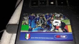 Nazionale Italiana Di Calcio - Italia Ghana - Campioni Del Mondo - Euro 3.00 - 30/06/2007 - Öff. Werbe-TK