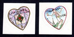 FRANCE 2005 - Autoadhésifs Yvert N° 38/39 NEUFS, Saint-Valentin, Coeurs Karl Lagerfeld - KlebeBriefmarken