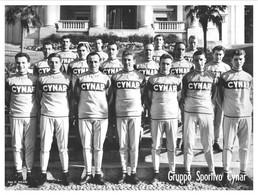 PHOTO RENFORCÉE, HAUTE CALITE, GROUPE TEAM CYNAR 1963 FORMAT 18 X 25 - Radsport