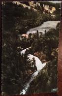 """Cpsm,"""" Frontière Franco-Suisse """" Franche-Comté,253 - Vue Panoramique Du Saut Du Doubs, éd Péquignot (25 Doubs) - Unclassified"""