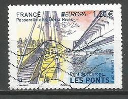 FRANCIA - 2018 - PONT DE L'EUROPE - PASSERELLE DES DEUX RIVES - USATO - Gebraucht