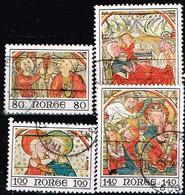 NORVEGE /Oblitérés/Used / 1975 - YVERT N°670/673 - MICHEL N°714/717 - Gebraucht