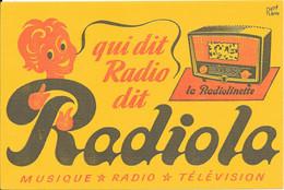 Qui Dit Radio Dit Radiola  Par Le Dessinateur René Ravo - R