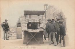 PARIS , L'illustré Intéressant , ( Kiosque , Marchande De Journaux ) Editeur : E. Le Deley ,n° 169 , COLORISEE - Ambachten In Parijs