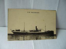 S.S. SALZBURG ALLEMAGNE CPA ECRITE DE BEYROUTH LE 2 DECEMBRE 1921 - Zonder Classificatie