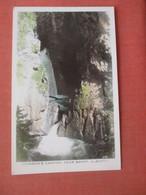 RPPC  Canada > Alberta > Banff  Johnson's Canyon       Ref  4529 - Banff