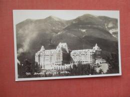 RPPC  Canada > Alberta > Banff Springs Hotel      Ref  4529 - Banff