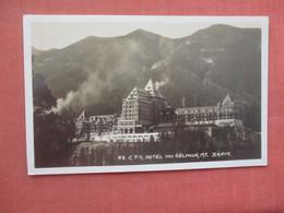 RPPC   Canada > Alberta > Banff  C.P.R. Hotel & Sulphur Mt.     Ref  4529 - Banff