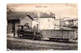 Einville. La Gare. Carte De Poilu 1917. - Sonstige Gemeinden