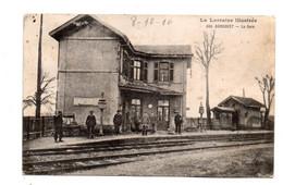 Agincourt. La Gare . Carte De Poilu 1916. - Sonstige Gemeinden