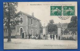 RAMBERVILLERS   Caserne Du 7° Bataillon De Chasseurs à Pied    écrite En 1911 - Rambervillers