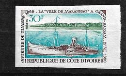 Côte D'Ivoire N° 284 Journée Du Timbre  Non Dentelé   Neuf  * * TB MNH /VF   Soldé   Le Moins Cher Du Site ! ! ! - Ivory Coast (1960-...)
