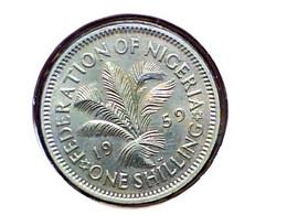 Nigeria 1 Shilling 1959 KM 5 - Nigeria