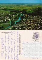 Ansichtskarte Limburg (Lahn) Luftbild Teilansicht Vom Flugzeug Aus 1988 - Limburg