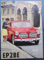 SWEDEN SSA QSL RADIO CARD EP2BE 1961 TEHERAN IRAN VOLVO REHOVOT POSTCARD CARTOLINA ANSICHTSKARTE - World