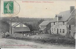 Moutiers Hubert école Communale Carte En Bon état - Other Municipalities