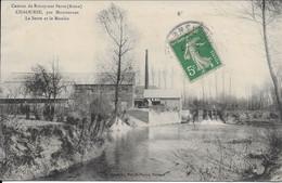 Canton De Rozoy Sur Serre Chaourse La Serre Et Le Moulin Carte En Bon état - Other Municipalities