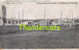 CPA  TENTOONSTELLING VAN SCHOEN EN LEDERINDUSTRIE WAALWIJK ELECTRISCHE VERLICHTING FIRMA DE VRIES MULDER AMSTERDAM - Waalwijk