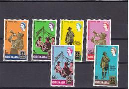 Grenada Nº 252 Al 257 - Grenada (1974-...)