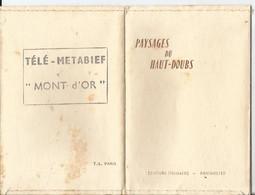 Pochette De 12 - - Photo Stainacre - Paysages Du Haut Doubs - Le Mont D'OR Métabief - Télésiège - Doubs - 25 Pontarlier - Luoghi
