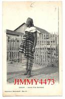 CPA - DAKAR Sénégal - Jeune Fille Bambara - Coll. J. Benyoumoff - Scans Recto-Verso - Sénégal