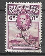Le Roi George VI Et Le Château De Christiansborg : N°119 Chez YT. (Voir Commentaires) - Gold Coast (...-1957)
