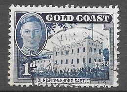 Le Château De Christiansborg : N°129 Chez YT. (Voir Commentaires) - Gold Coast (...-1957)