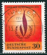 BRD - Mi 575 ⨀ (A) - 30Pf               Jahr Der Menschenrechte - Used Stamps