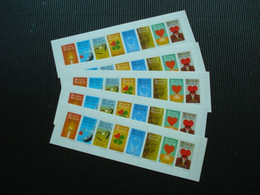 5x Postfris Zegelboekjes**31**ongeplooid - Carnets 1953-....