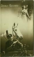 1910s RPPC POSTCARD - SOLDIER & HORSE (BG1014) - Perros