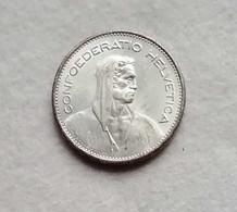 Svizzera 5 Franchi 1965 (Ag) - Switzerland