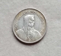 Svizzera 5 Franchi 1937 (Ag) - Switzerland