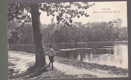 CPA : Bois De Chaville  Rêverie   Au Bord De L'étang   Carte écrite 1909 - Chaville
