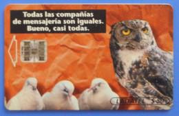 Mexico Owl Eule Hibou Buho Bird Uccello Aves Pajaro Dove Pigeon Ladatel - Otros
