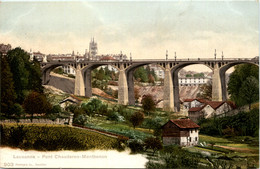 Lausanne - Pont Chauderon Montbenon - VD Waadt