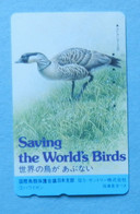 Japan Japon Bird Oiseaux Vogel Hawaiian Goose Save Saving The World's Birds - Otros