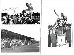 Waregem 1957 -Van Steenbergen Rik (gesigneerd) - Cyclisme