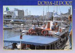 17 ROYAN  La Vedette De Croisère Inter îles à Quai N° 54 \ML4014 - Royan