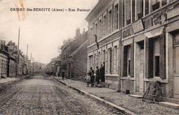 55Or   02 Origny Sainte Benoite Rue Pasteur Photographe Tabacs - Unclassified