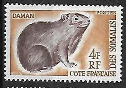 COTE DES SOMALIS N°306 N** - Unused Stamps