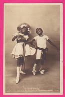 CPA (Réf: Z 3452) (SPECTACLE CIRQUE) LE CAKE-WALK Dansé Au Nouveau Cirque LES ENFANTS NÈGRES (animée) - Circo