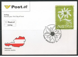 Austria - 2005 - FDC - Flower - Sticker - Mi N. 2538 - FDC