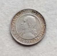 Repubblica Di San Marino L. 5 1935 - San Marino