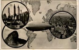 Zeppelin - Weltflug - Luchtschepen