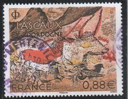 FRANCE 2019 GROTTE LASCAUX DORDOGNE OBLITERE A DATE YT 5318 - Used Stamps