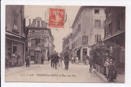 CP 74 THONON LES BAINS La Rue Des Arts - Thonon-les-Bains