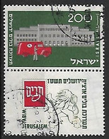 ISRAEL N°81 - Used Stamps (with Tabs)