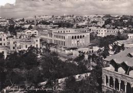 (A-ST198) - MOGADISCIO - Collegio Regina Elena - ATTENZIONE CARTOLINA DANNEGGIATA, LEGGERE DESCRIZIONE - Somalia